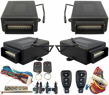 Universal 2 Remote Controls Keyless Car Entry Door Lock Locking System Box Kit