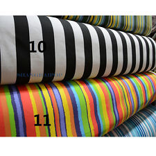 Stripe Cotton Canvas Fabric Material Upholstery Sofa Decoration Chair By Meter