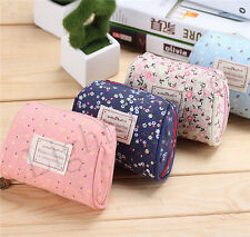 New Fashion Women Toiletry Travel Makeup Cosmetic bag pouch Clutch Casual Purse
