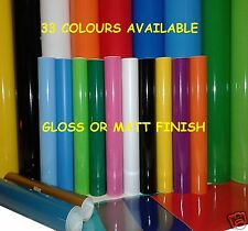 5M ROLL or A4 SHT SELF ADHESIVE STICKY BACK PLASTIC SIGN VINYL LIKE FABLON