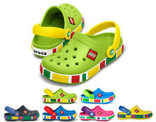 New Unisex Summer 1Crocband Kids shoes Mickey Mouse clogs multi color and size