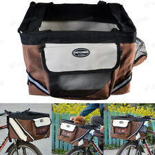 Front Carrier Basket Box Bicycle Bike For Small Dog Cat Outdoor Travel