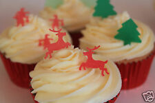 edible christmas, large reindeer cake decorations any 4th set free