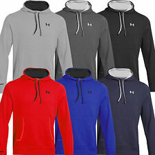 UNDER ARMOUR UA CHARGED COTTON STORM MENS SPORTS HOODIE / HOODY TOP ALL SIZES