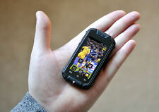 """World's Smallest Mini 2.45"""" Waterproof IP53 Android CellPhone GSM 2SIM BT WIFI"""