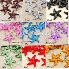 100 to 1,000 Starfish Rhinestone Scrapbooking Wedding Table Scatters