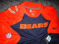 NIKE CHICAGO BEARS NFL FOOTBALL ON FIELD DRY-FIT SHIRTS SIZE 3XL L M MEN NWT $65