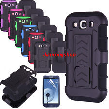 Rugged Hybrid Case Cover Belt Clip Holster w/Stand for Samsung Galaxy S3 i9300