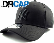 NEW ERA 39THIRTY CAP | NY YANKEES BASIC CLASSIC STRETCH FIT BLACK ON BLACK HAT