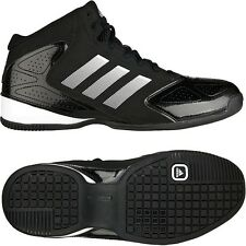timeless design a8934 9e23a ADIDAS MENS BASKETBALL TRAINERS SNEAKERS SPORTS GYM HI TOP SHOES 3 SERIES  NEW