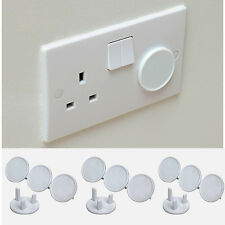 Socket Cover Child Baby Proof Plug Socket Safety Protector Covers Insert New