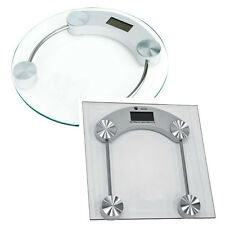 180 Kg DIGITAL ELECTRONIC GLASS LCD WEIGHING BODY SCALE BATHROOM HELPS LOOSE FAT
