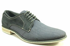 Steve Madden Men's Sirius Oxford Shoe - Grey Suede