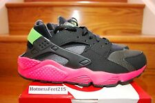 Nike Air Huarache Anthracite Hyper Punch 318429-006 New Men pink Sz:8-13