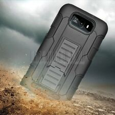 Armor Rugged Hybrid Hard Stand Case Cover Holster For BLU Studio 5.5 D610A