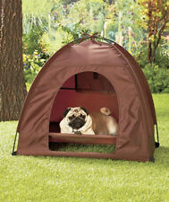 Dog Tent & Raised Bed Pet Shelter House Outdoor Camp Travel Portable Waterproof