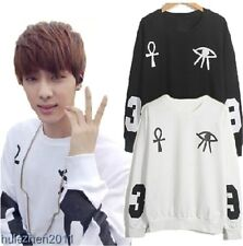 New Kpop BTS Bangtan Boys Rap Monster Jin SUGA V Jimin J-Hope Sweater Sweatshirt