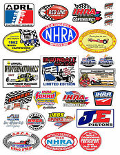 1:18 DRAG RACING DECALS FOR DIECAST AND MODEL CARS DIORAMAS