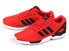 aa0c712d6eb47 Adidas ZX Flux 2014 Unisex Classic Casual Sports Sneakers Red Black White  M21327