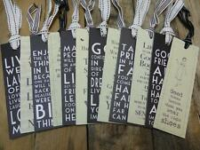 EAST OF INDIA BOOKMARK BOOK MARK BOOKMARKS SAYINGS SLOGAN GIFT VINTAGE QUOTE