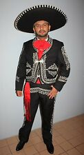 Mexican Charro,Mariachi Men Suit Size38 From Mexico 6Piece Set.Mariachi Talla 38