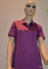 "Puma Women's Golf Duo-swing Mesh Polo Shirt ""Cool Max"" Gloxinia  MSRP.  $65.00"