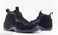 ** Nike Air Foamposite One 'TRIPLE BLACK' Suede Premium PRM MEN & GS Kids 4-13 *