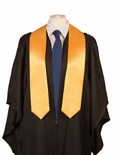 University Graduation Stole (sash) in Satin-  Academic  gown accessory