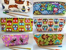 Pencil Cases choice Cats,Owls,Elephants,Horses,Monkeys,Chickens,Foxes Animals
