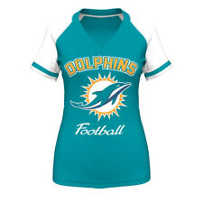 Miami Dolphins Aqua Go For Two IV Women's T-Shirt