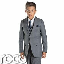 Boys Grey Suit, Slim Fit Suits, Page Boy Suits, Prom Suits, Boys Wedding Suits