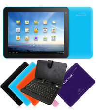 "KOCASO Tablet Android 4.1 8"" Wifi Camera 4 GB 1.2Ghz PC Keyboard Bundle"