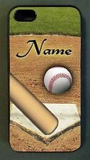 Baseball sports fan Black CELL PHONE CASE for Apple iPhone 4 5 6 Samsung Galaxy