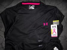 UNDER ARMOUR POWER IN PINK BREAST CANCER LOOSE FIT TECH SHIRT XXL XL L NWT $$$$