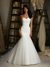 New Sexy White/Ivory Mermaid Wedding Dress Bridal dressStock Size6 8 10 12 14 16