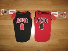 KONG TANK TOP SHIRT FOR DOGS BLACK or RED Sizes-XXS, S, S/M,M,L,XL-*NWT*