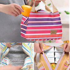 Thermal Insulated Waterproof Tote Travel Picnic Cooler Lunch Storage Bag Box New