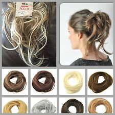 HAIR SCRUNCHIES FOR BUN PONYTAIL UPDO WEDDING PARTY WORK DANCE CHRISTMAS