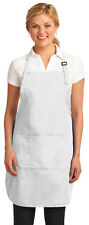Port Authority Adjustable Full Length Easy Care Stain Release Apron. A703
