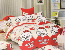 2014 Hello Kitty Bedding Set for Twins/Single Queen King Bed Tailor Make RARE