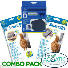 DELUXE CARTRIDGES Value Pack + COMBO PACK for CATIT SMARTSIFT Hooded Cat Pans