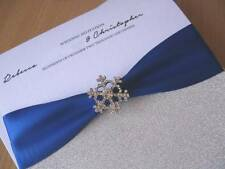 Luxury Snowflake Winter Wedding Invitation - With / Without Box