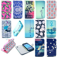 Card Holder Wallet Flip Leather Case Cover Shell Housing Protector Cell Phone