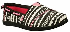 """Bobs Skechers Girls Kids Youth NEW """"Aztec Princess"""" 85139L  Slip on Shoes SIZES"""