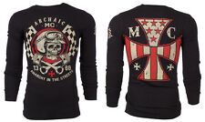 Archaic AFFLICTION Men THERMAL T-Shirt INJECTOR American Customs Biker M-3XL $58