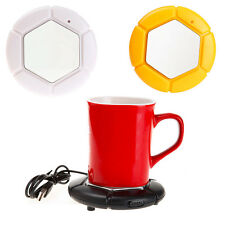 CHEAP! NEW Portable USB Powered Cup Mug Warmer Coffee Tea Drink Heater Tray Pad