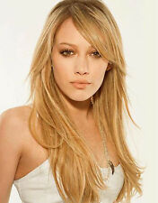 HUMAN HAIR MINI SIDE SWEEPING CLIP IN ON FRINGE BANGS CHANGE YOUR LOOK TODAY!