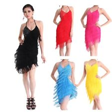 Latin salsa tango rumba Cha cha Ballroom Dance Dress skirt 5 COLORS
