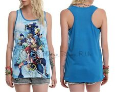 New Disney Kingdom Hearts Mickey Group Racer Back Tank Top Large M-2XL