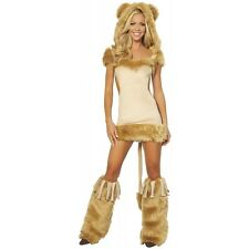 Courageous Lioness Adult Women Sexy Cowardly Lion Furry Costume